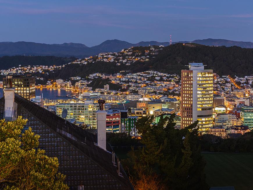 Wellington de nuit