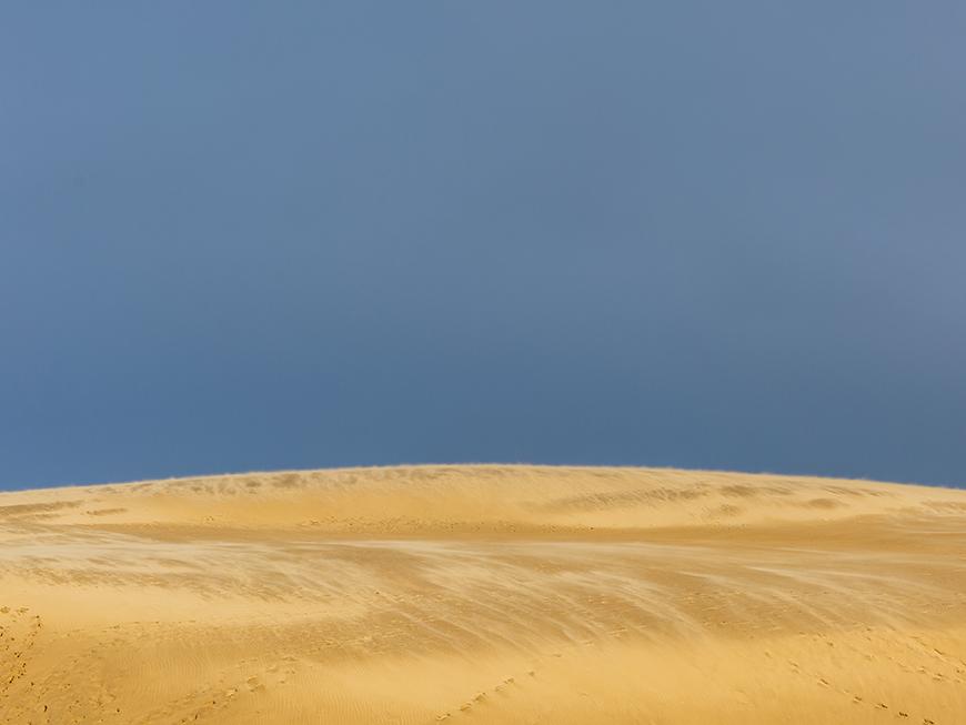 Te Paki dunes de sable