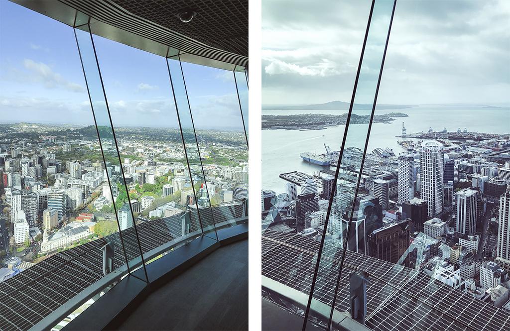 Auckland vue depuis la Sky Tower