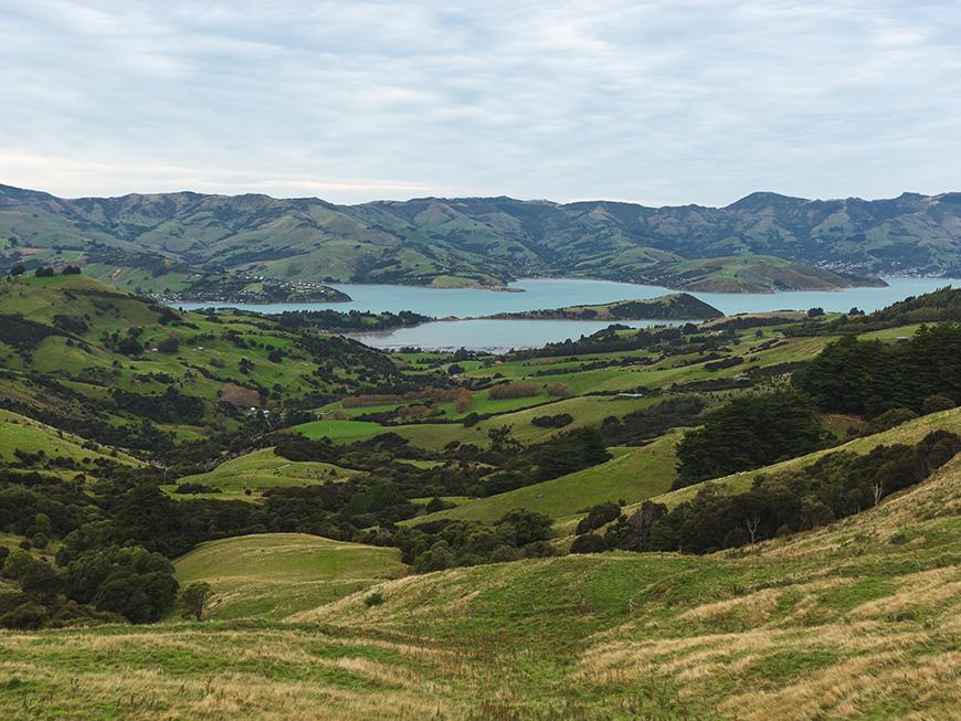 Panorama Hilltop - Nouvelle-Zélande : découvrez l'Île du Sud