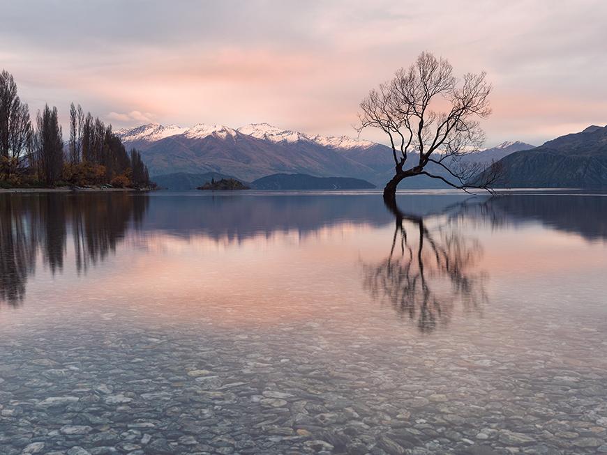 Lac Wanaka - Nouvelle-Zélande : découvrez l'Île du Sud