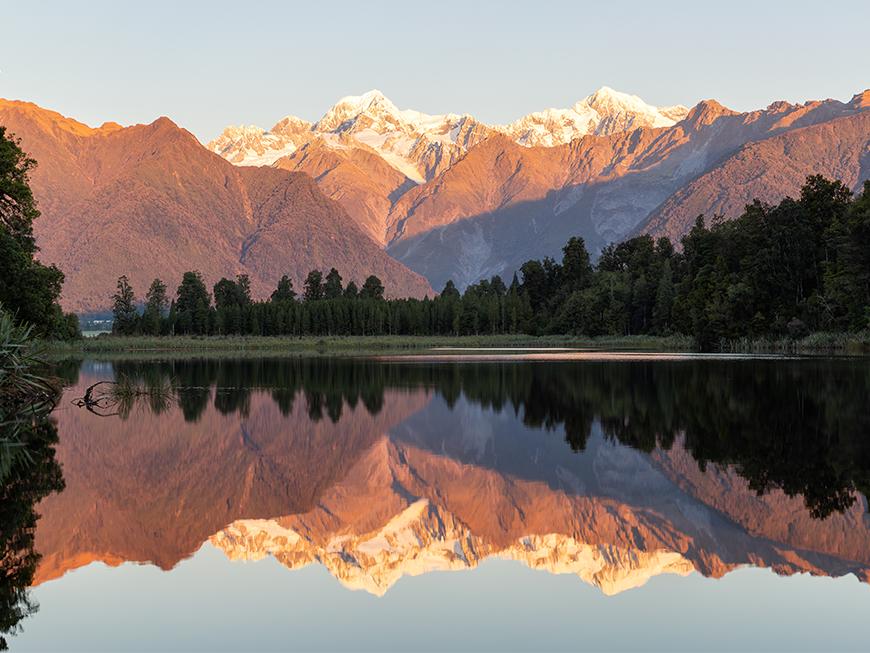 Reflet sur le lac Matheson