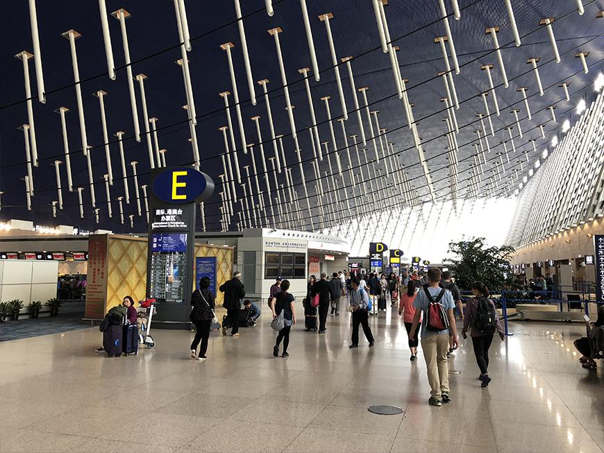 Aéroport de Shanghai - Article Quel budget pour partir en road trip en Nouvelle-Zélande?