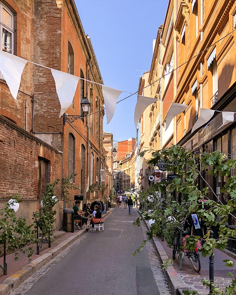 Rues commerçantes de Toulouse
