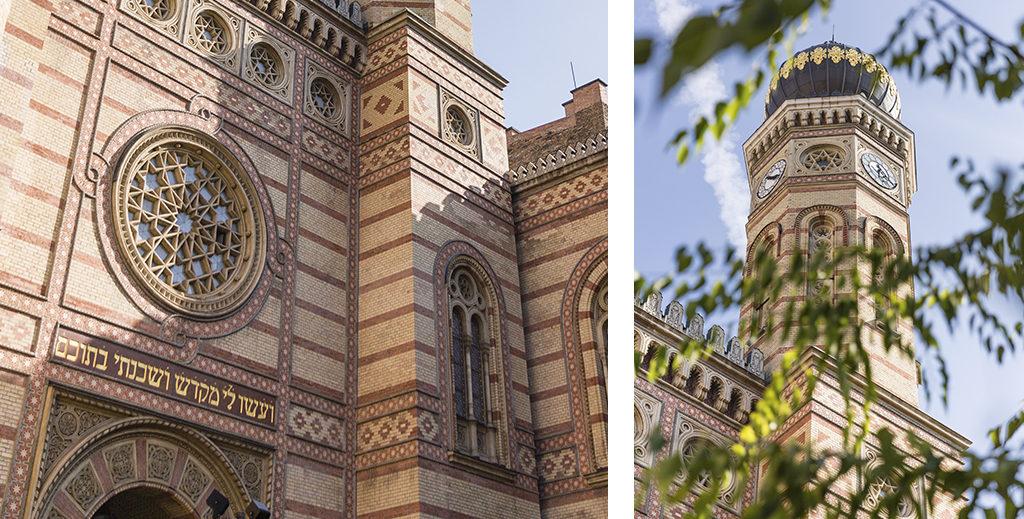 Quartier juif et synagogue de Budapest