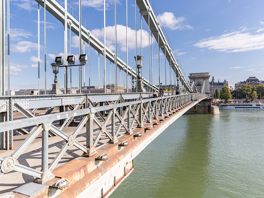 Pont Széchenyi de Budapest
