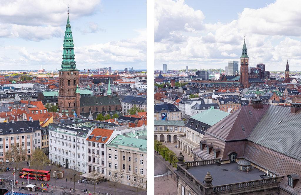 Vue depuis le Christiansborg Palace - Copenhague