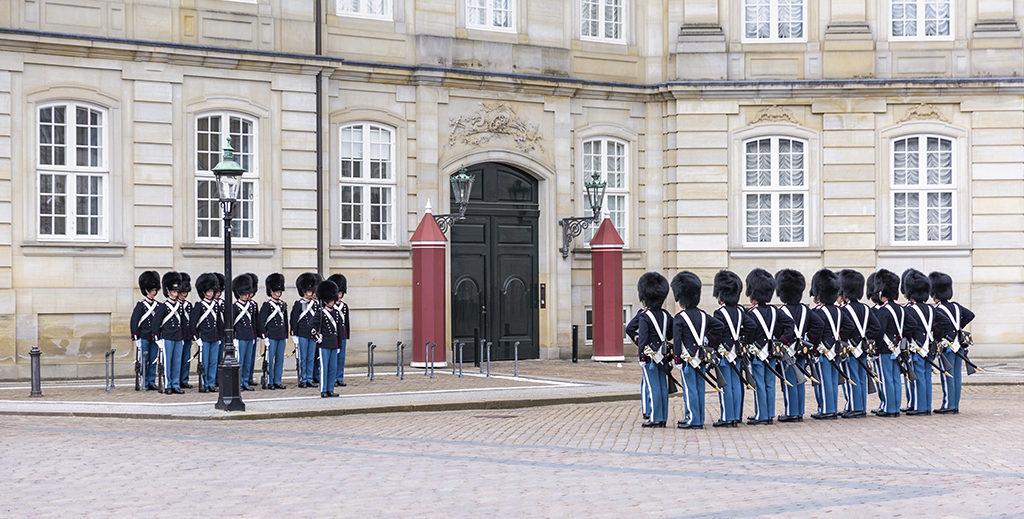 Amalienborg - Copenhague