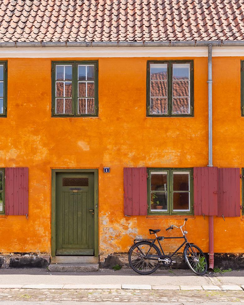 Quartier de Nyboder - Copenhague
