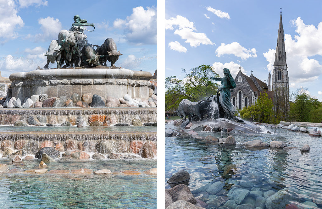 Fontaine de Gefion - Copenhague