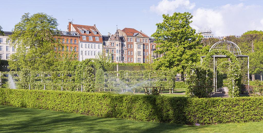 Jardins Château de Rosenborg - Copenhague