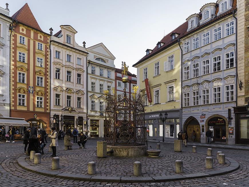 Quartier de Staré Mesto à Prague