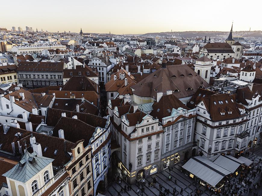 Tour de l'horloge astronomique de Prague