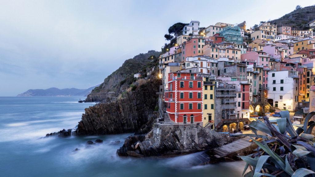 Riomaggiore - Village des Cinque terre dans le nord de l'Italie
