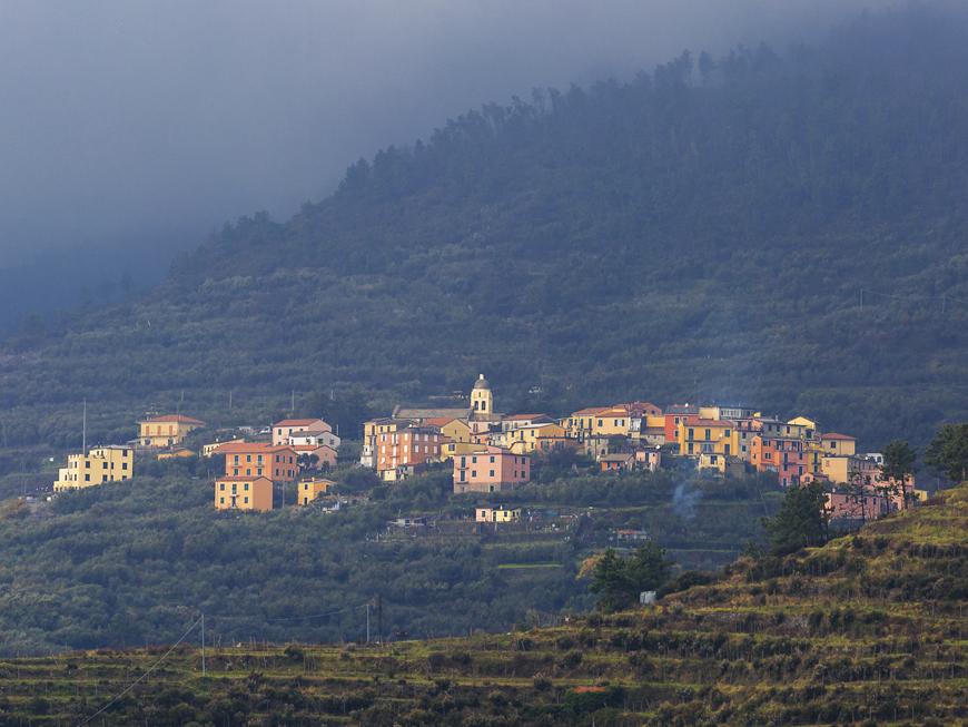 Corniglia - Village des Cinque terre dans le nord de l'Italie