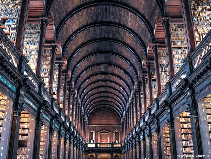 Bibliothèque du Trinity College à Dublin