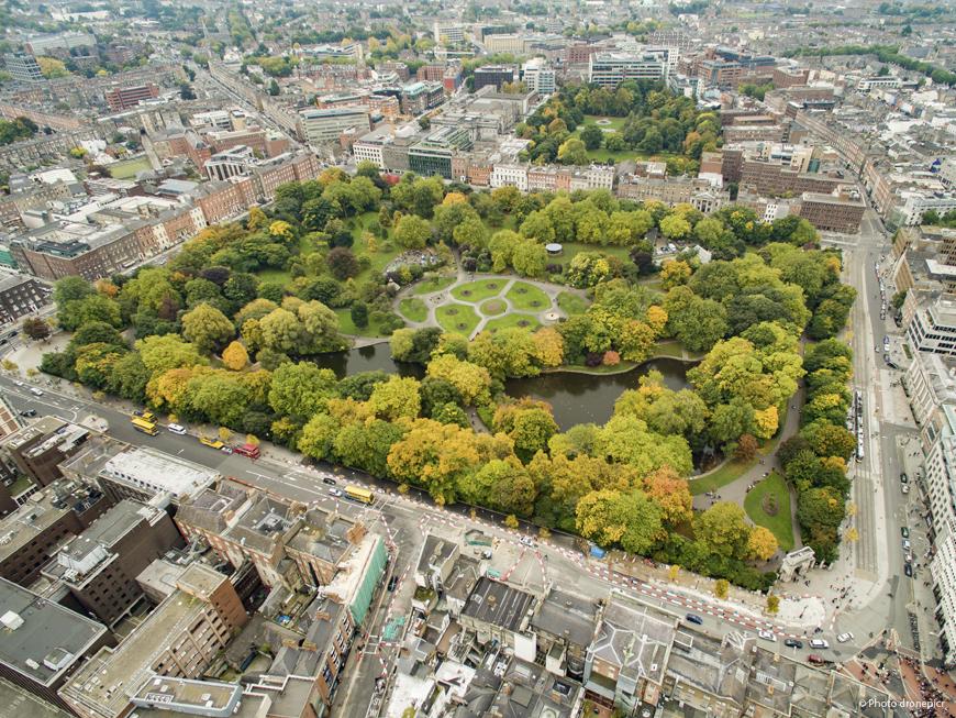 Parc St Stephen's Green à Dublin
