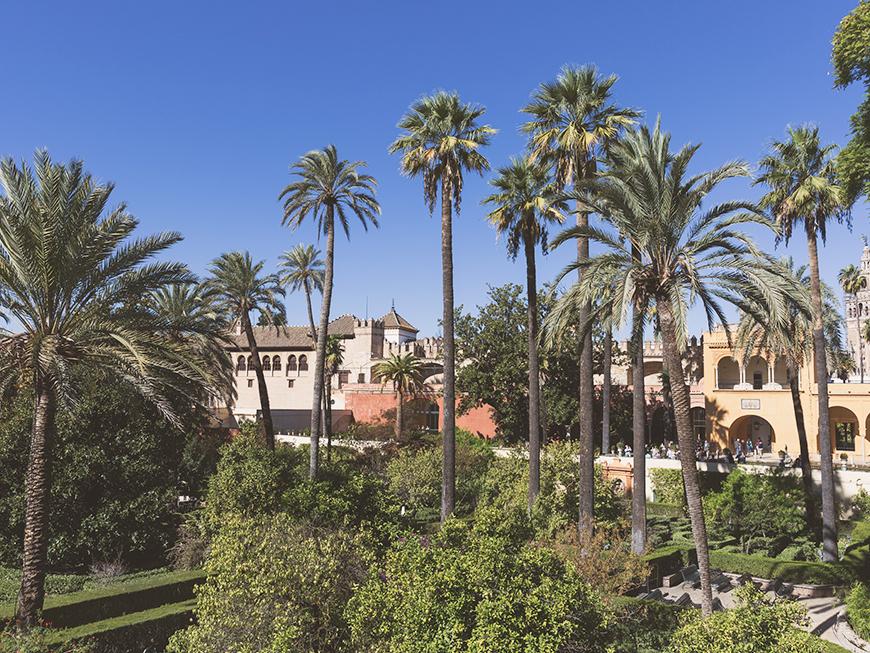 Real Alcazar de Séville et ses jardins