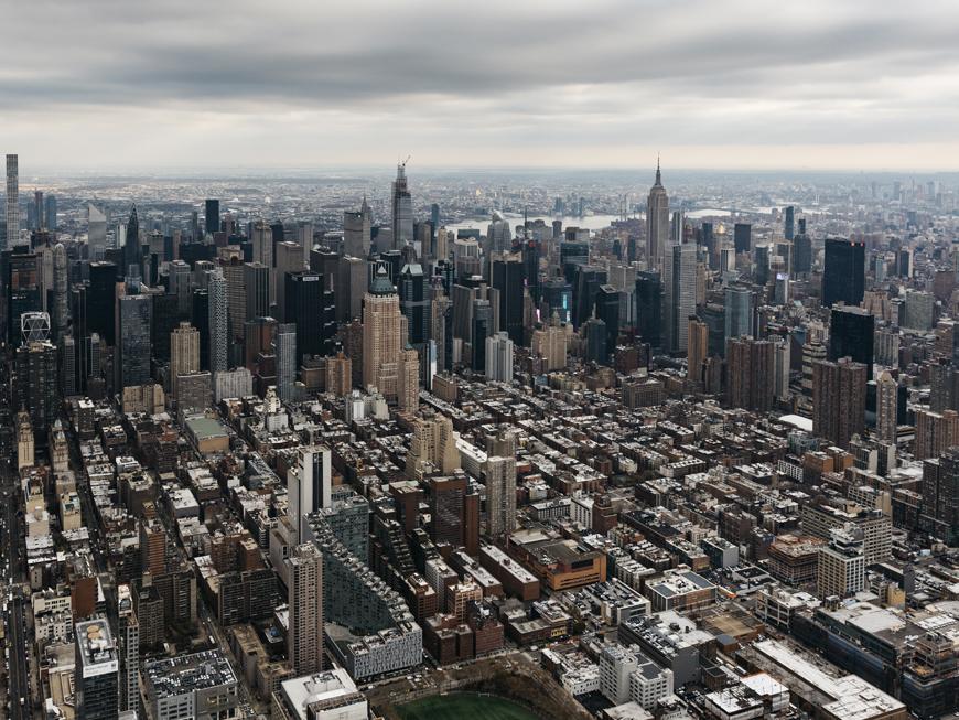 New York en hélicoptère - Manhattan