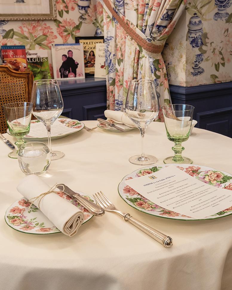 La Table d'Olivia à Saint-Martin-de-Ré - Île de Ré