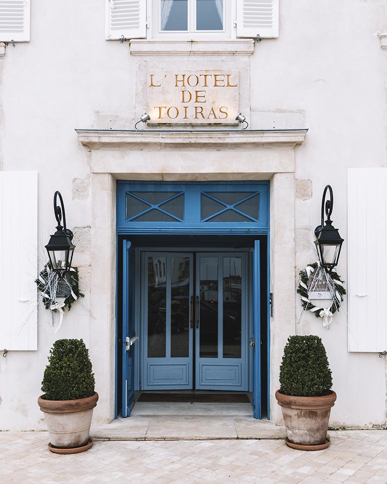 Hôtel de Toiras à Saint-Martin-de-Ré - Île de Ré