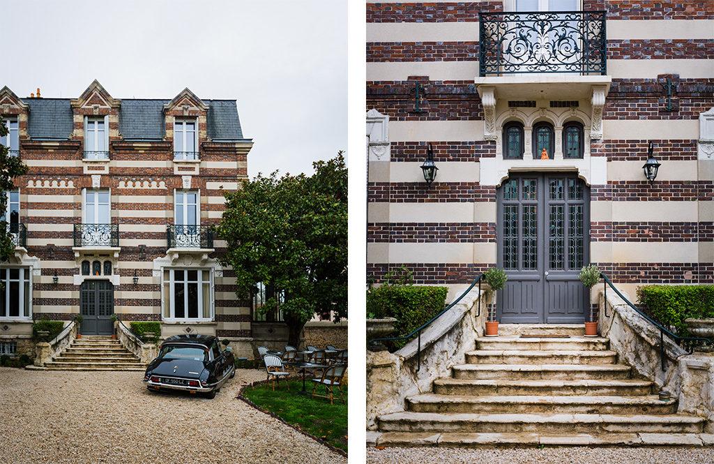 Devanture de la Maison Blanche à Chartres - Escapade à Chartres en Eure-et-Loir