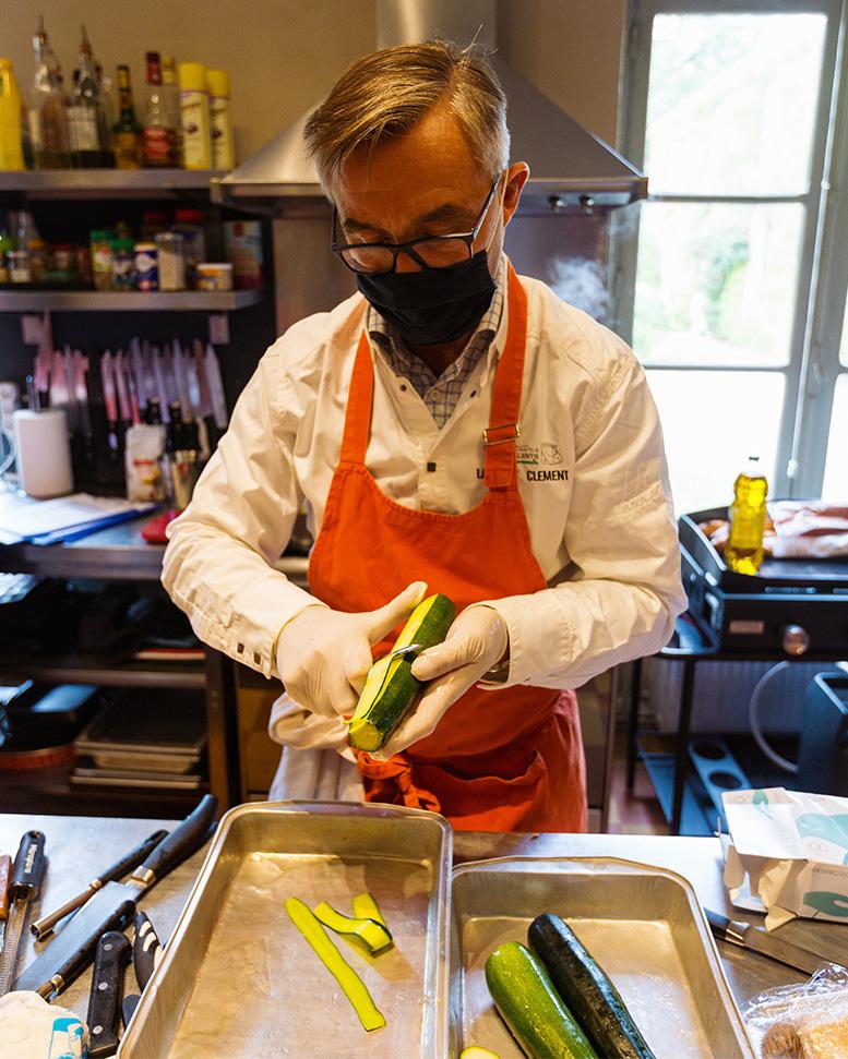 Chef étoilé Laurent Clément