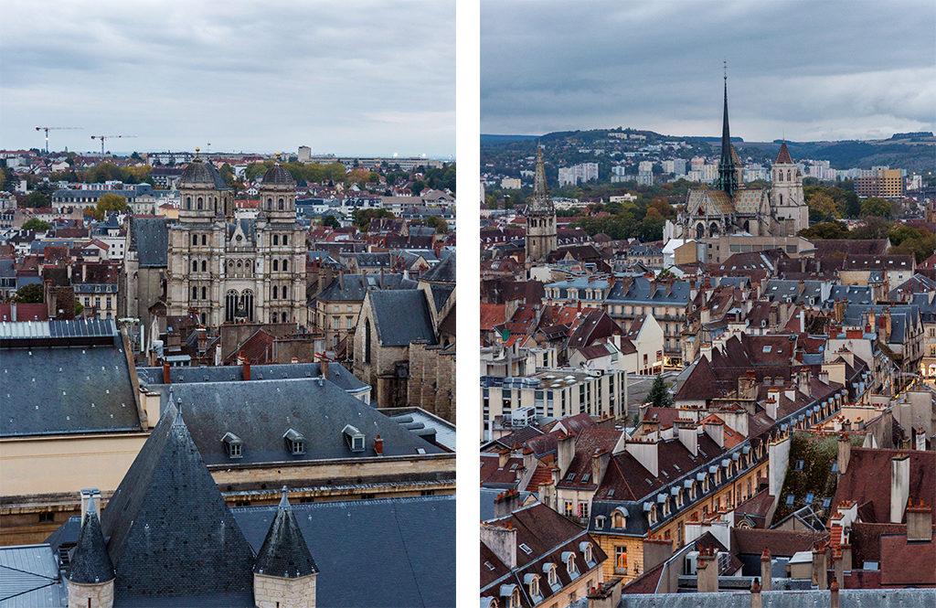 Vue depuis la tour Philippe le Bon Dijon