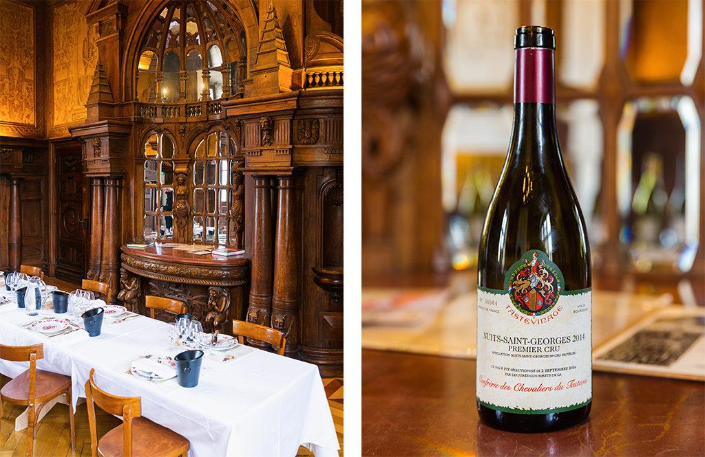 Table de Léonce - Château Clos de Vougeot Bourgogne