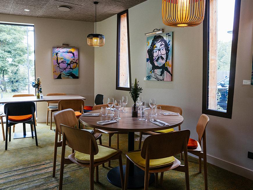 Restaurant Le Verger - Domaine de l'Epau - Le Mans