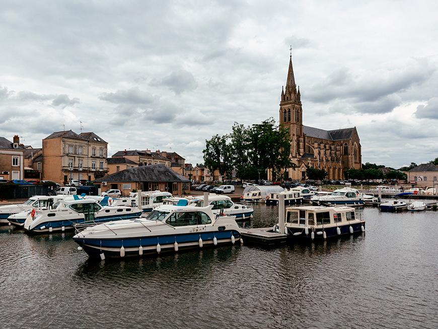 Croisière sur la Sarthe depuis Sablé-sur-Sarthe