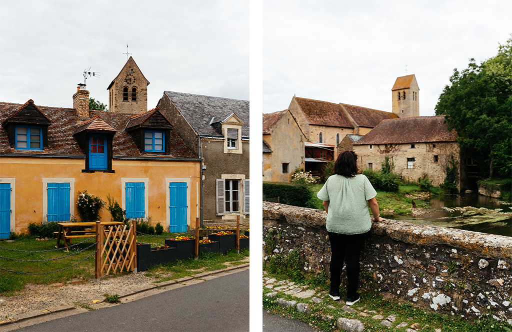Village d'Asnières-sur-Vègre, petite cité de caractère - Vallée de la Sarthe