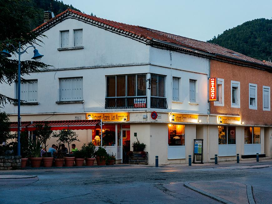 Restaurant Les Marronniers - Saint Sauveur de Montagut