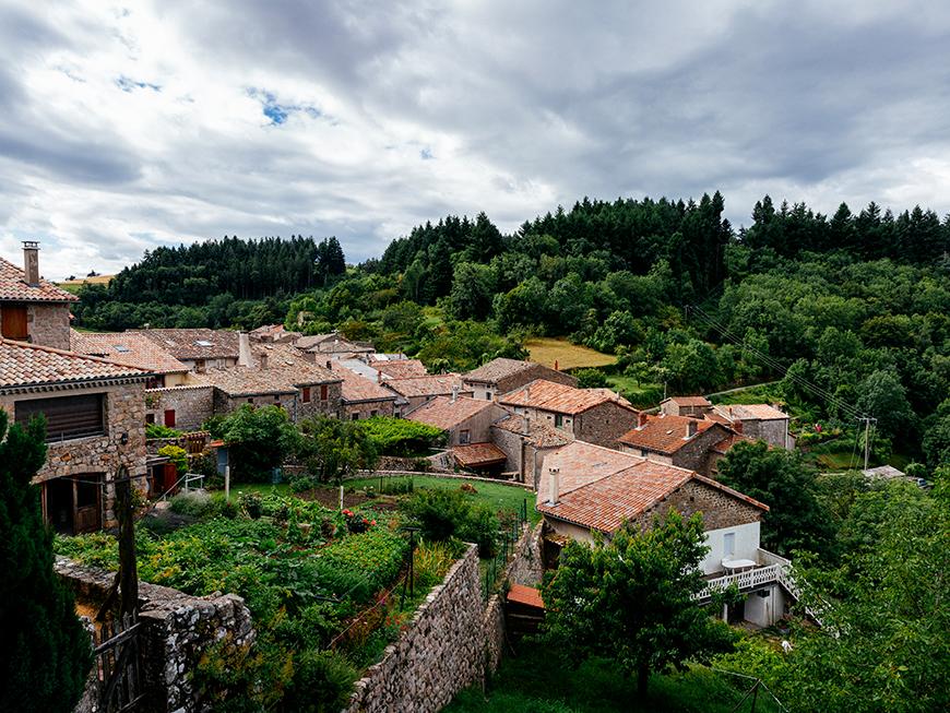 Village de Chalencon - Ardèche Buissonnière