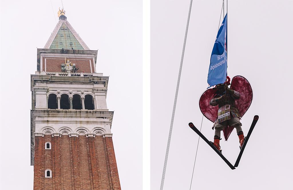 Carnaval de Venise - Vol de l'ange