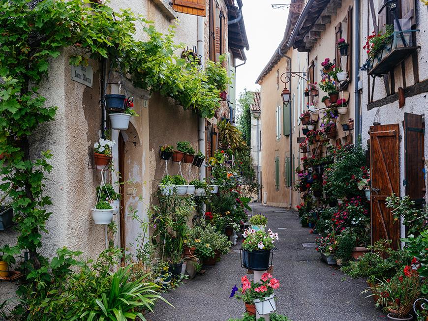 Village de Casseneuil à proximité de Villeneuve-sur-Lot