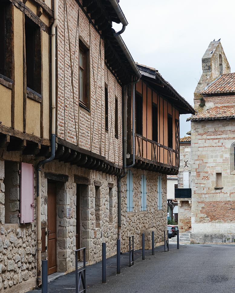 Village de Casseneuil à proximité de Villeuneuve-sur-Lot