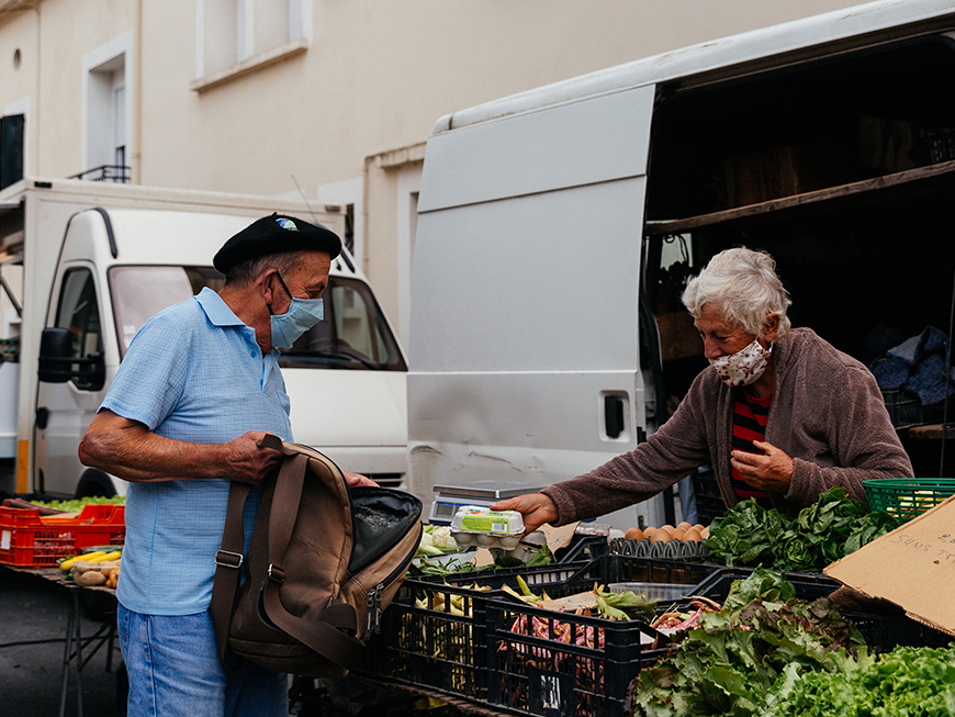 Marché de Sainte-Livrade-sur-Lot