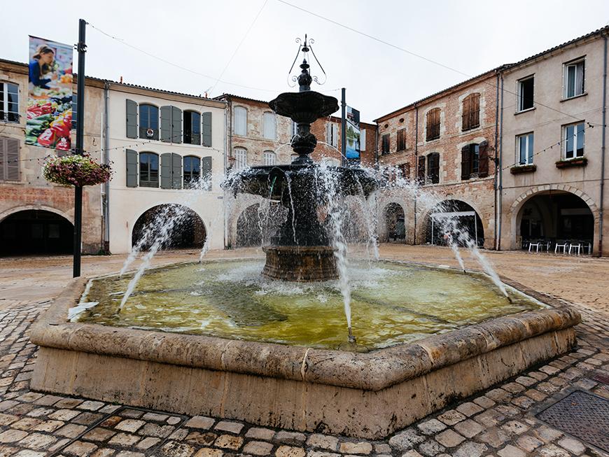 Place Lafayette - Villeneuve-sur-Lot