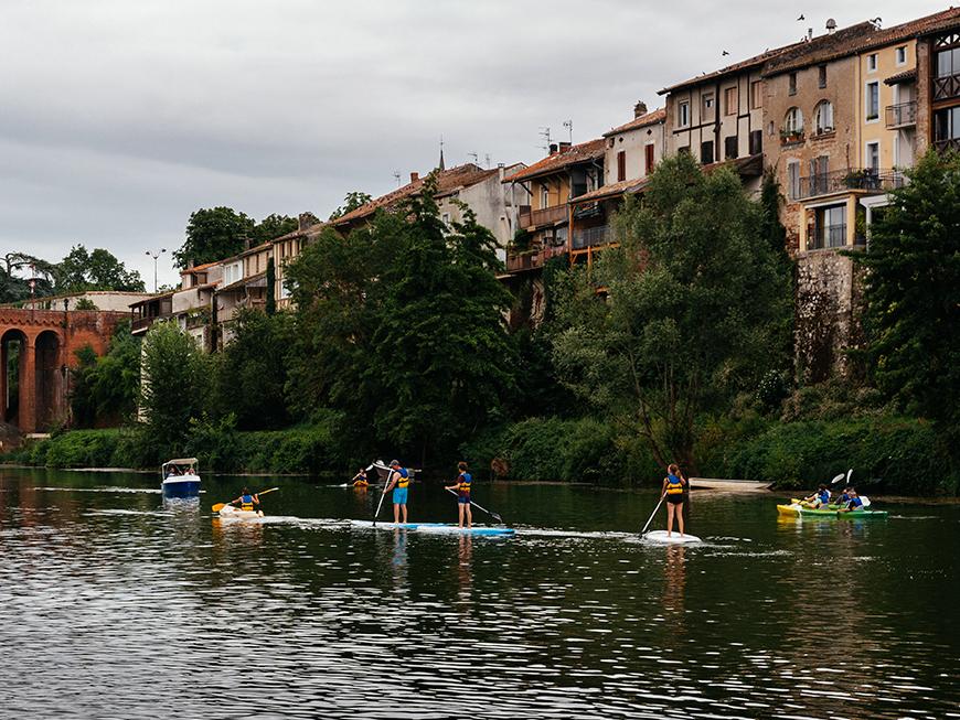Canoë sur le Lot - Villeneuve-sur-Lot