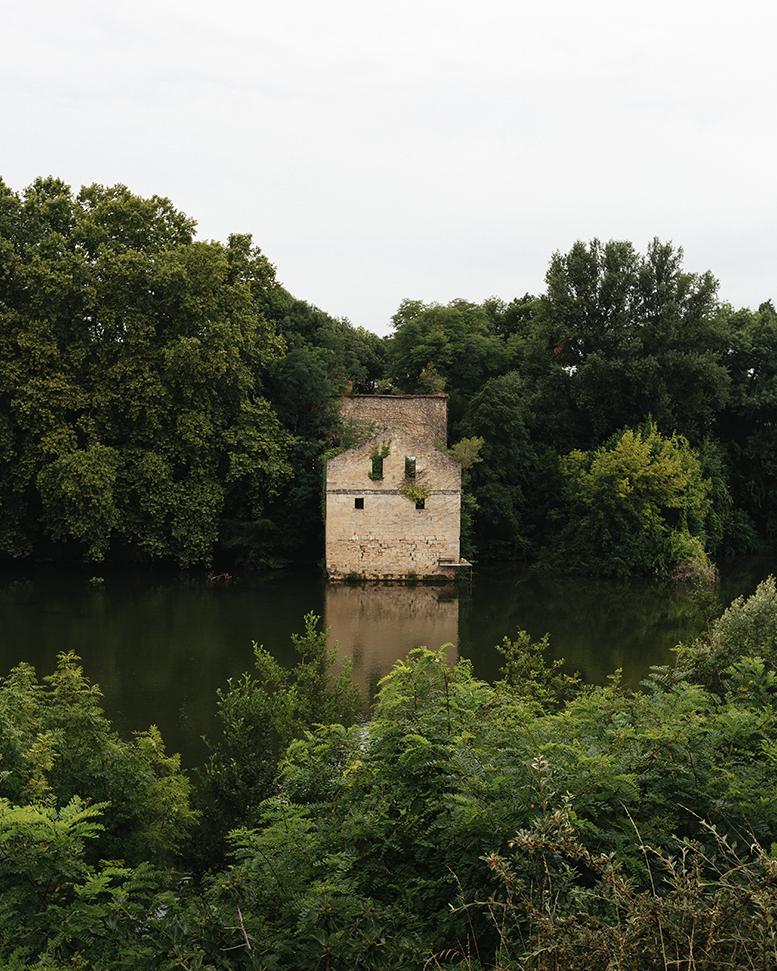 Vue depuis le Hôtel Mercure le Moulin de Madame - Villeneuve-sur-Lot