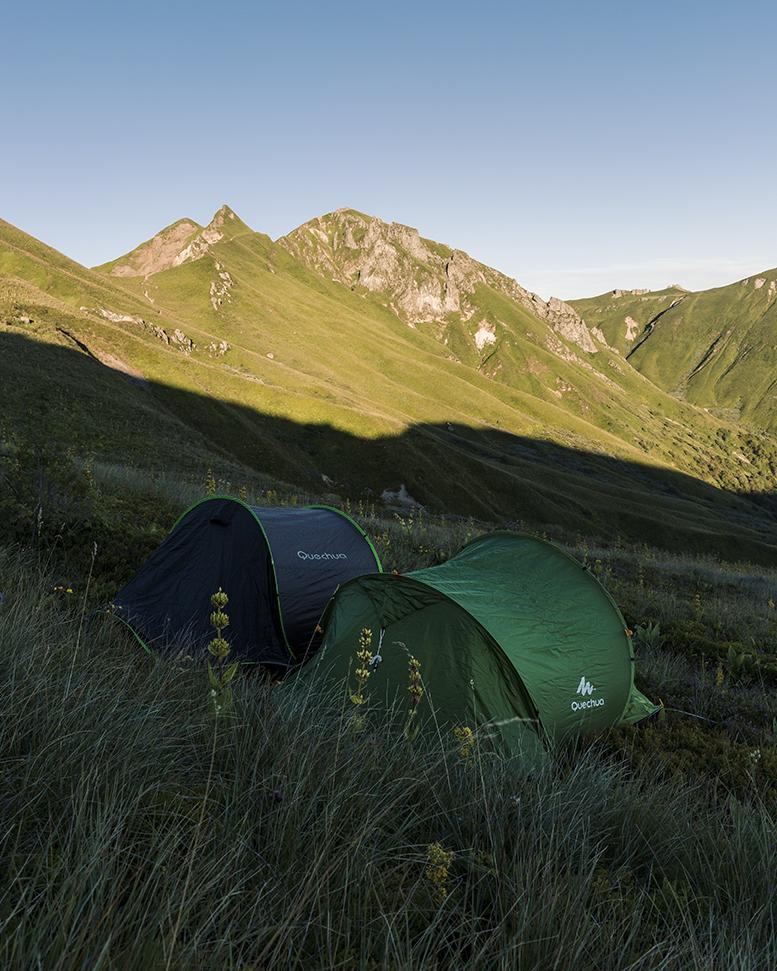 Bivouac au Massif du Sancy - Auvergne