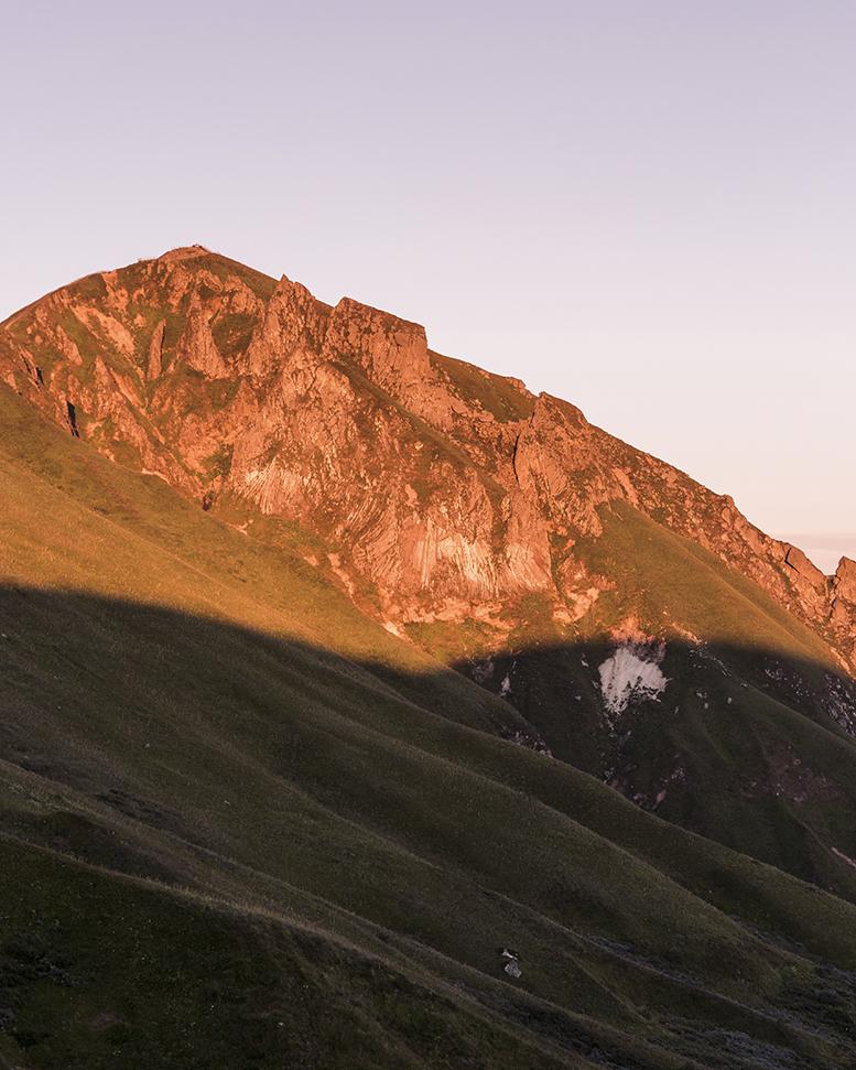 Coucher de soleil au Massif du Sancy - Auvergne