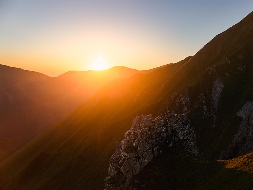 Lever de soleil au Massif du Sancy - Auvergne
